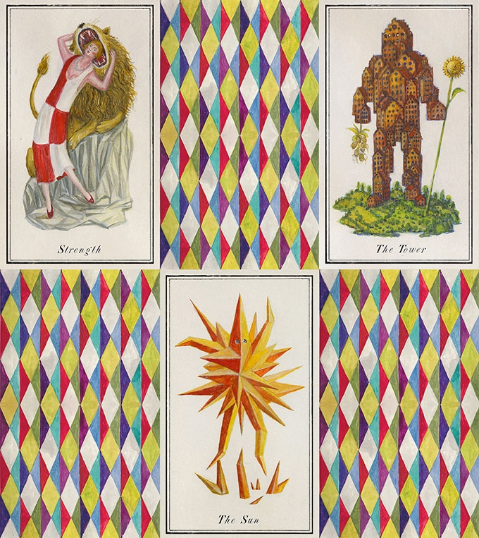 Examples from the Major Arcana