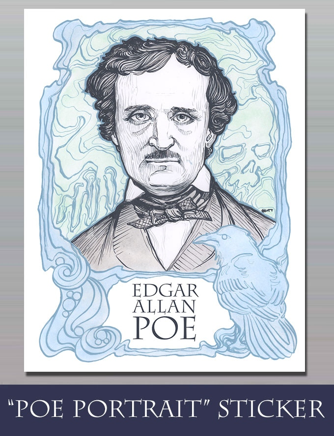 STRETCH GOAL $43,000 - POE STICKER