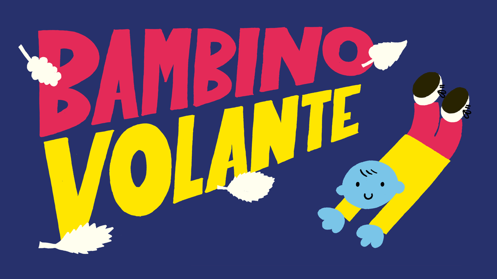 Bambino Volante (Floating Boy) illustrated children's book project video thumbnail