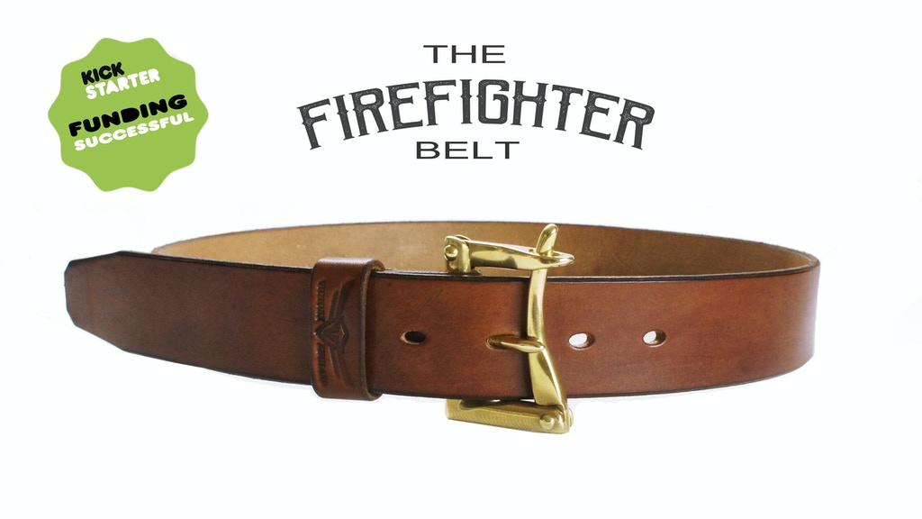 The Firefighter Belt - Vintage Design Faithfully Recreated project video thumbnail