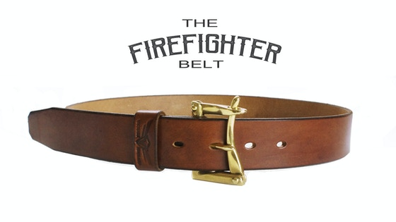 The Firefighter Belt - Vintage Design Faithfully Recreated