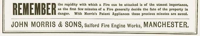 From Morris' advert 1894
