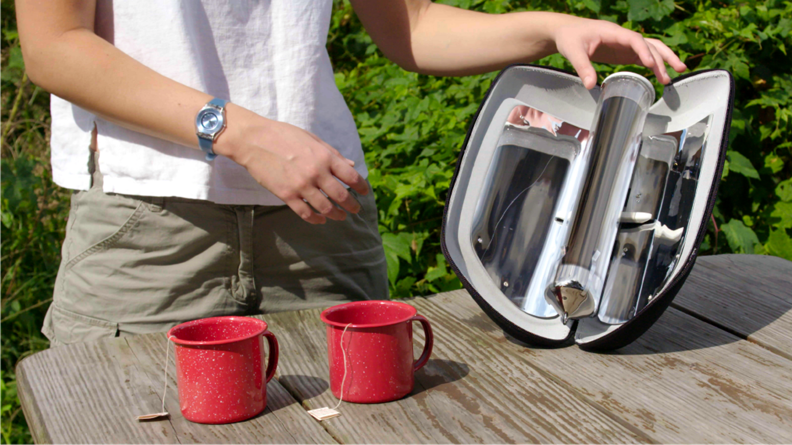 GoSun Go: Boil Water and Cook Meals with Solar Power