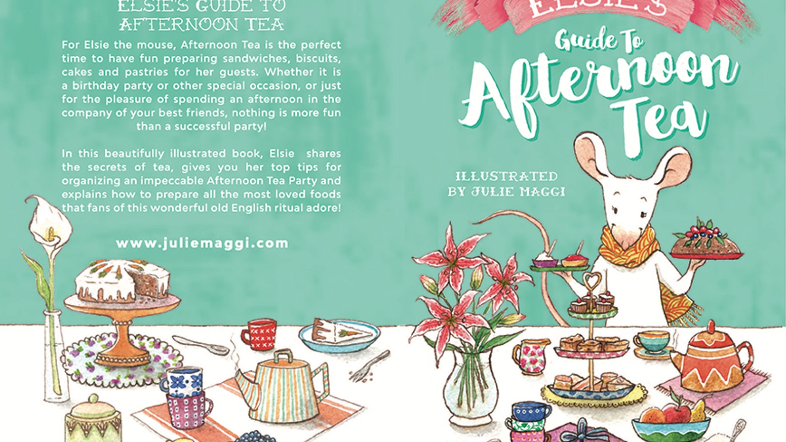 Full of recipes, tips and secrets, this book is the perfect gift for those who love tea parties and Afternoon Tea fans!