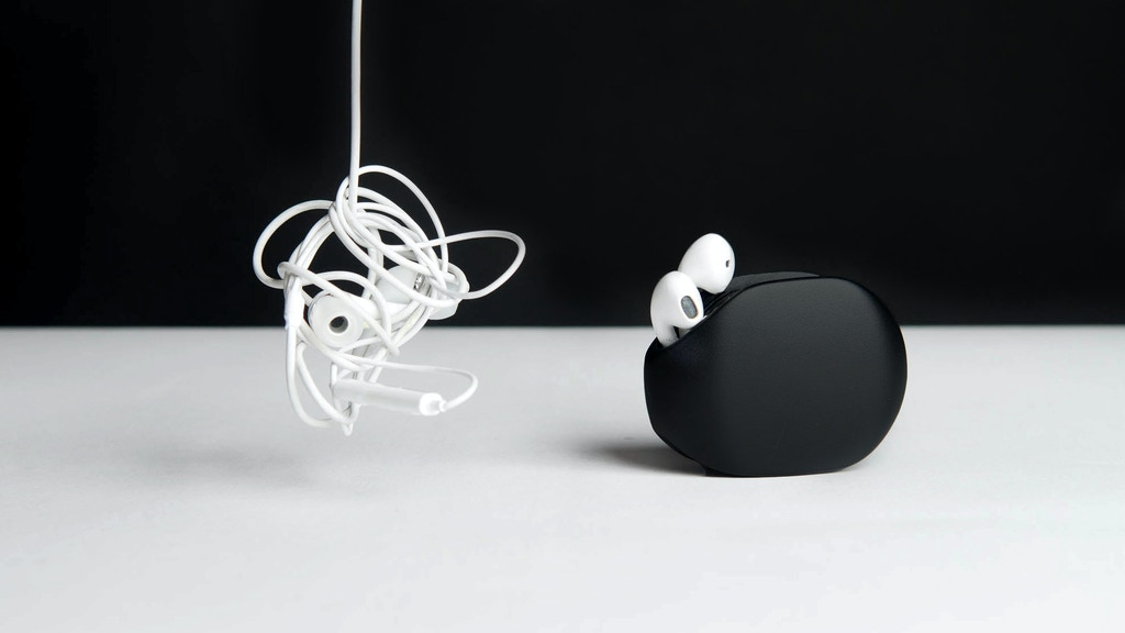 GARY 2.0 : Earphones & Cables Automatic Organizer
