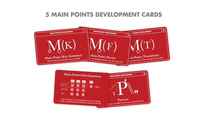 The 5 Main Points Development Cards