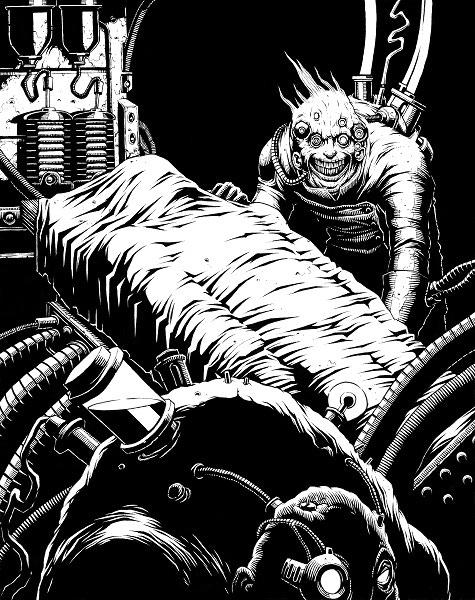Igor and Frankenstein by David Allsop
