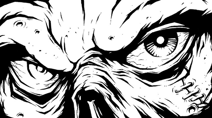Malicious Stare by David Allsop