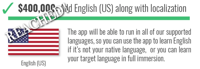 Fluent forever the app learn to think in any language by gabriel for this stretch goal in all languages we dont officially support were adding a framework for users to learn any language they want and also to share fandeluxe Images