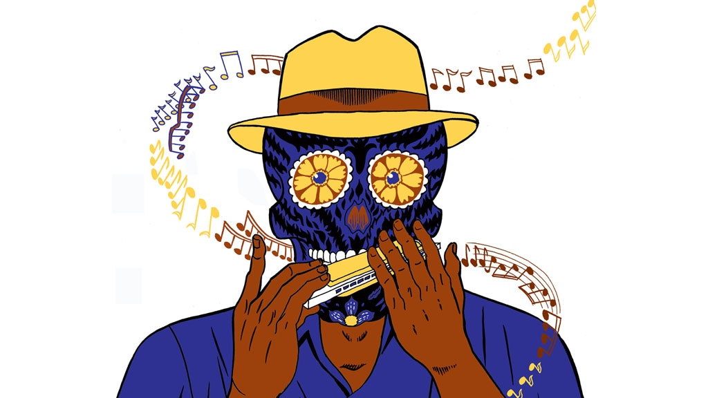 Death Plays a Mean Harmonica: The Art Object Graphic Novel project video thumbnail