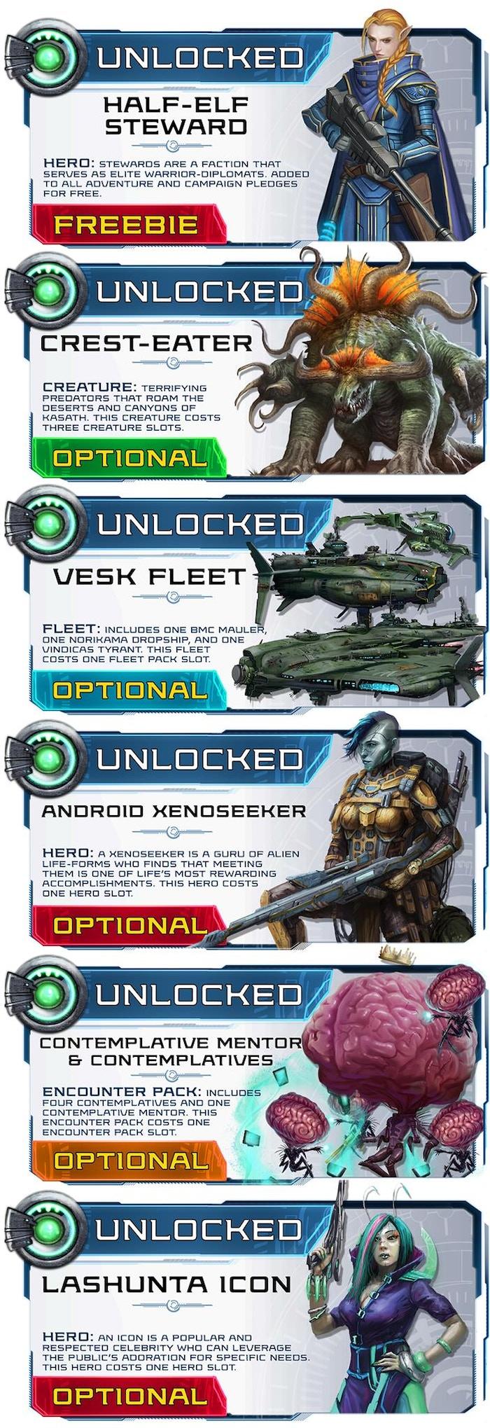 Starfinder Masterclass Miniatures by Ninja Division