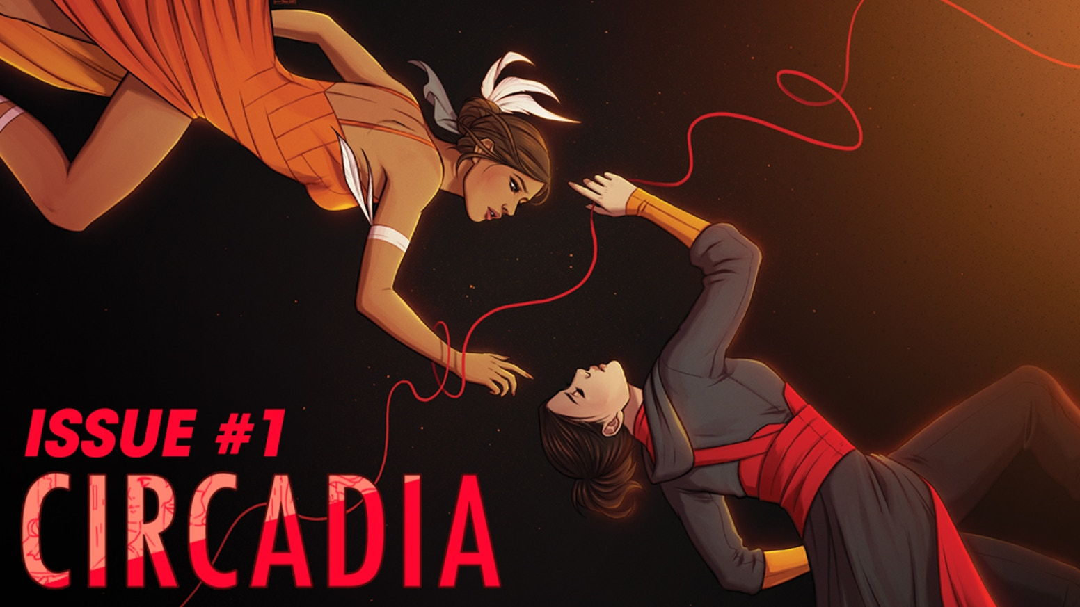 The first issue of a fantasy comic about a bisexual ballerina and a non-binary assassin falling in love while trying to save the world.