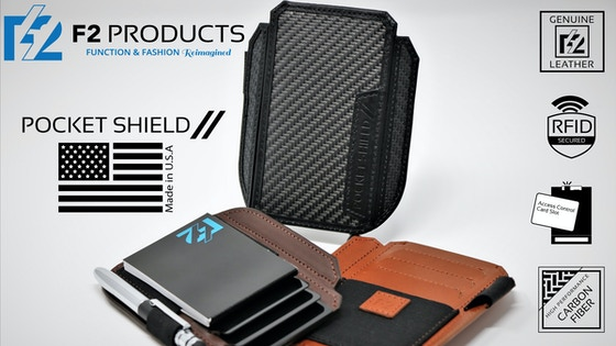 Pocket Shield // - Minimalist Wallet and In-Office Tool