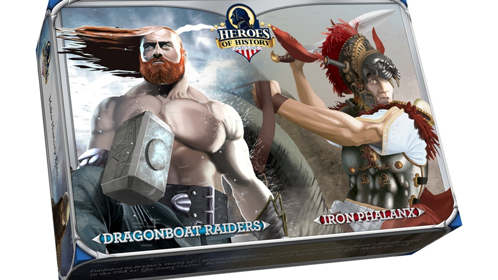 Heroes of History: Iron Phalanx and Dragonboat Raiders project video thumbnail