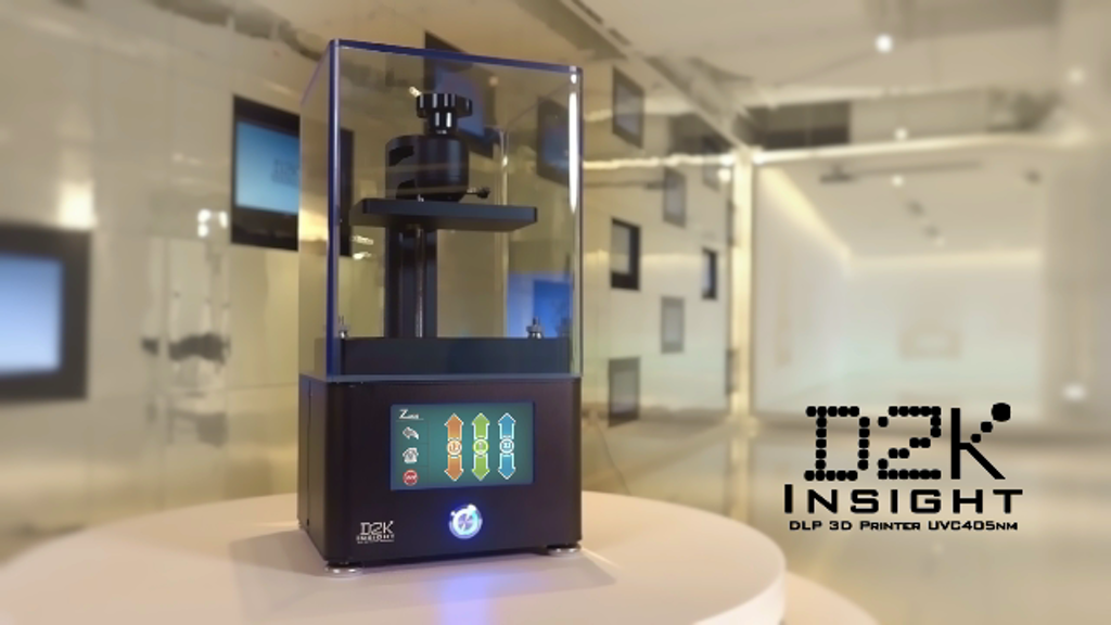 D2K Insight: The Most Affordable SLA/DLP 3D Printer project video thumbnail