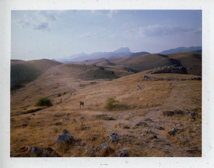 Taken with 8/90 Super Angulon - Fuji instant filmFP100C