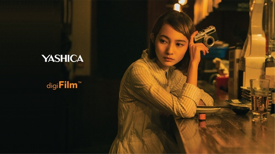 Expect the Unexpected. digiFilm™ Camera by YASHICA