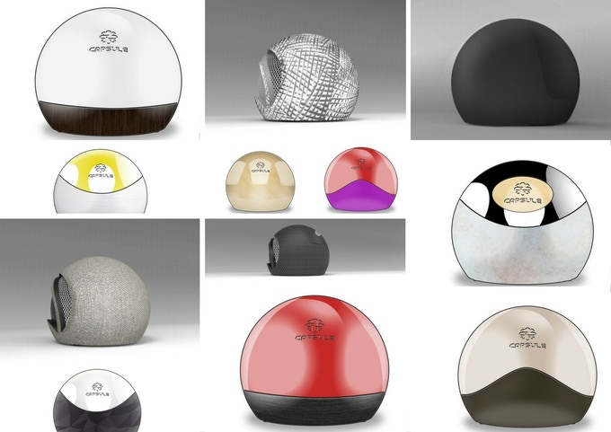 exploring other Capsule material, design, finishing and color combinations