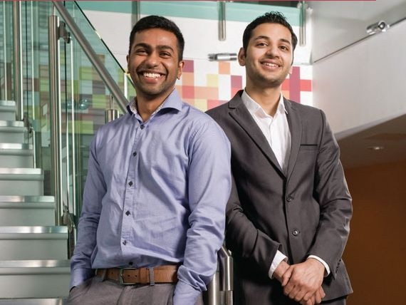Founder Jerome Vyland and Aman Sharma