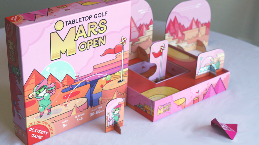 Mars Open: Tabletop Golf project video thumbnail