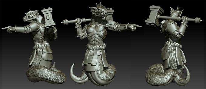 Nas~Far'k for Naashti (3D sculpture)