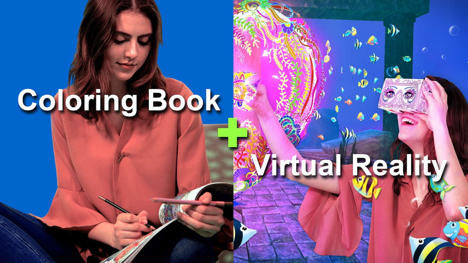 Imagine VR An Interactive Coloring Book