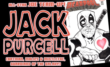 JOE and the Mighty JACK PURCELL can do a commission piece for you!