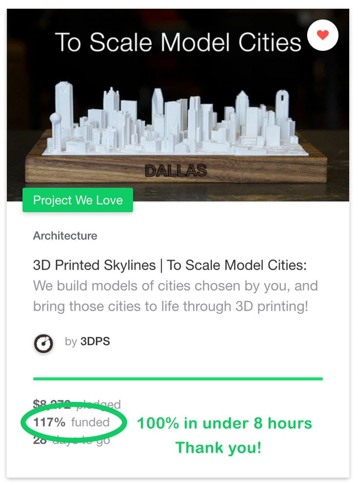 3D Printed Skylines | To Scale Model Cities by 3DPS » 3D