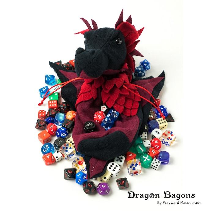 Charrlotte (Char - lot), our ambassador dragon.