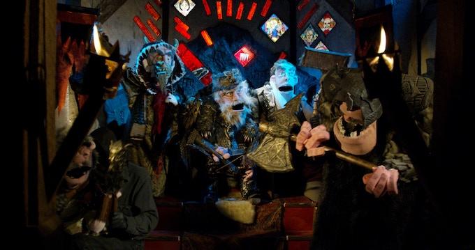 Murder Village Throne Room