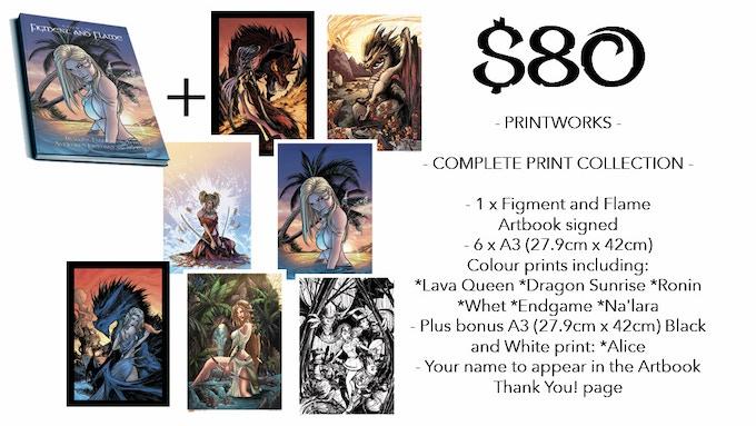 *Larger print examples below