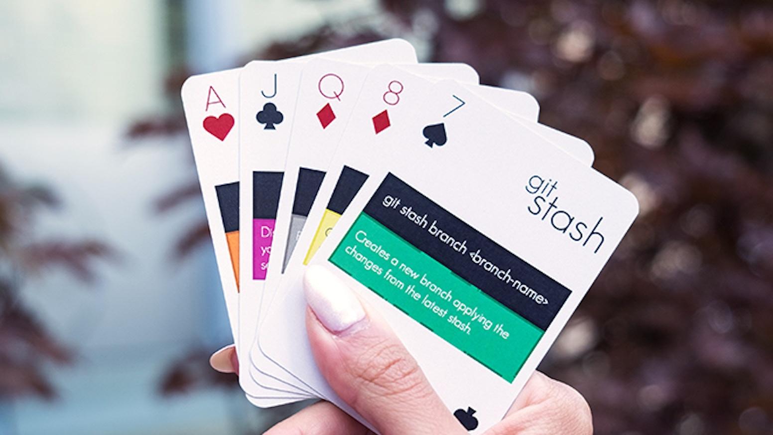 Gitdeck playing cards by varianto25 kickstarter gitdeck playing cards colourmoves Choice Image