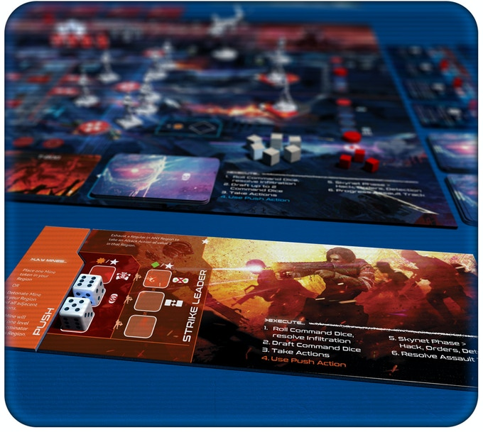 Shared Board Cause To Pause: T2029: Terminator 2 Board Game By Allen Chang —Kickstarter