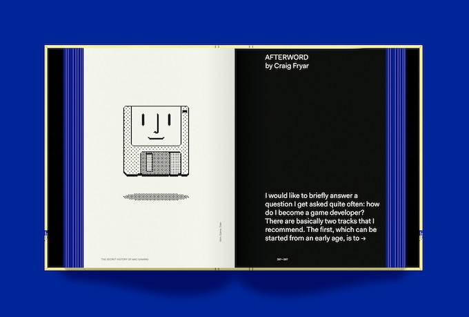 Page rendering of the book's afterword by Craig Fryar
