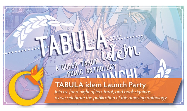 TABULA IDEM: A Queer Tarot Comic Anthology Relaunch by Fortuna Media
