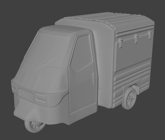 Tuktuk Food Van