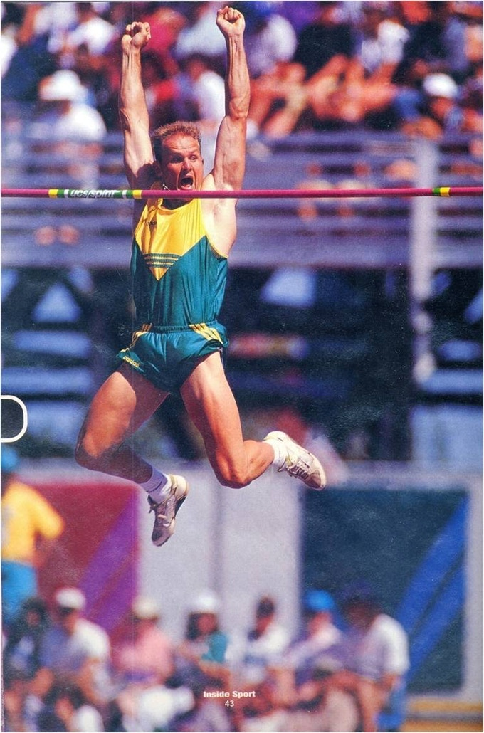 It was always exciting to wear Australia's green & gold!