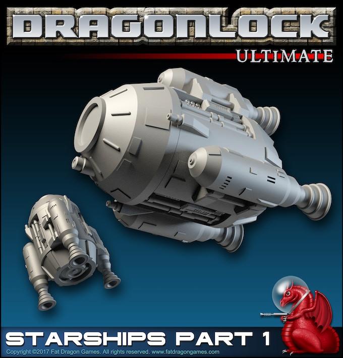 Digital render from 'Starships Part 1' terrain set (final design subject to change).