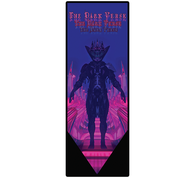 Front of bookmark.