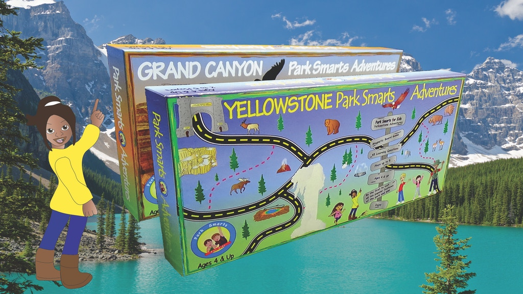 Park Smarts Adventures Board Games on National Parks project video thumbnail