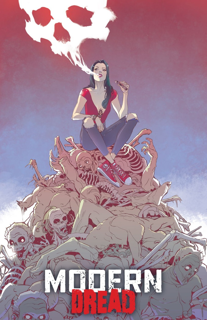MODERN DREAD variant cover by Romina Moranelli