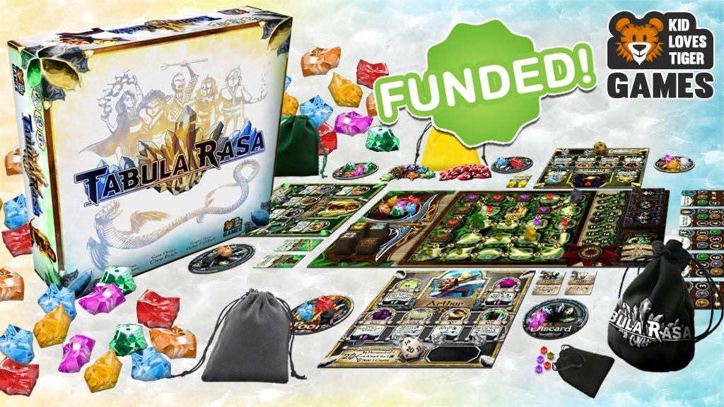 Tabula Rasa: A colorful Pool/Bag Building Game of Champions! project video thumbnail
