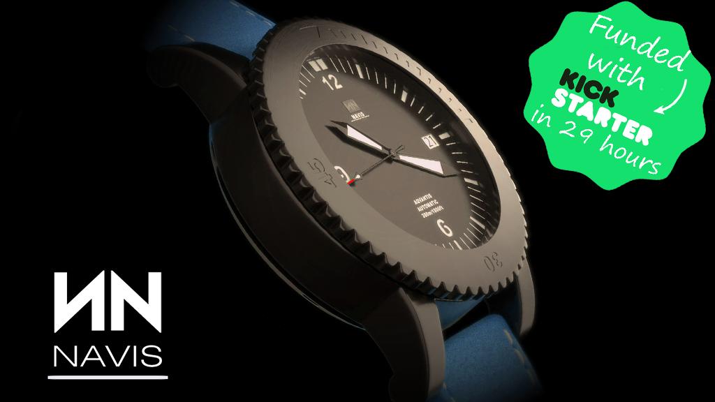 NAVIS Aqvantis: Swiss designed diver watch project video thumbnail