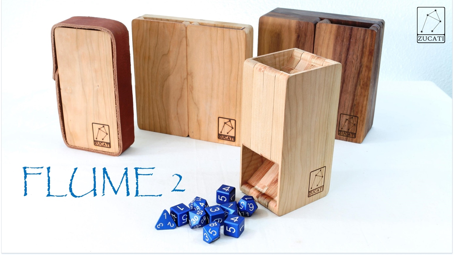 The best dice tower (we've) ever made. Hard and exotic woods. Portable, modular, simple, and feature packed. Board Games and RPG ready