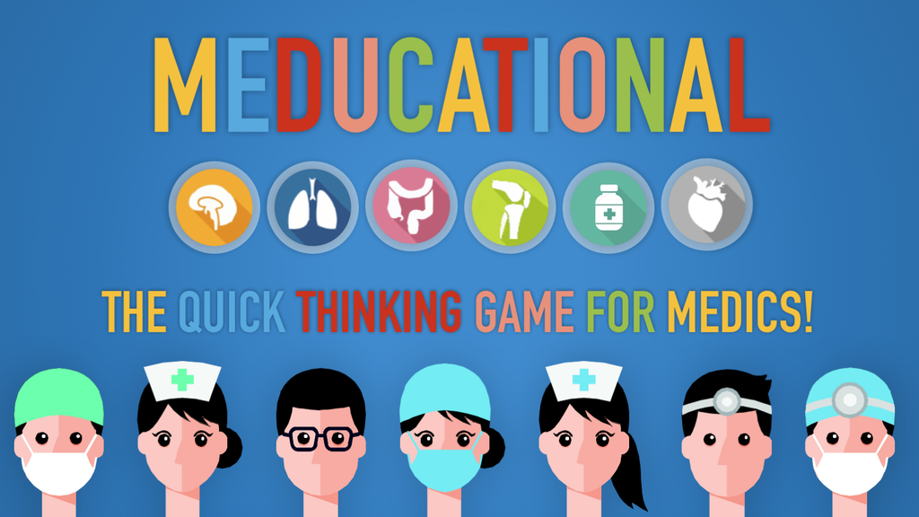 Meducational: The quick thinking game for medics! project video thumbnail