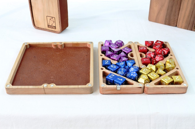 Double the capacity with 40 dice storage.  And a integrated rolling surface!