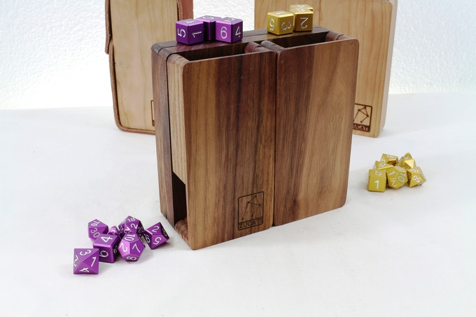 And just when you thought you'd seen it all... Dissconnect the storage tray or leave it attached and use the FLUME 2  Deluxe's tower as a dual tower setup able to roll full size dice just like our original FLUME, but two at once!