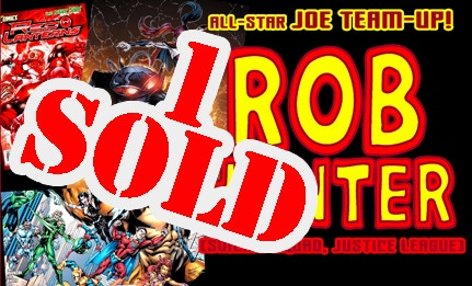 ROB HUNTER, inker of the New Zodiax cover, is part of the All-Star Joe Team-Up too!