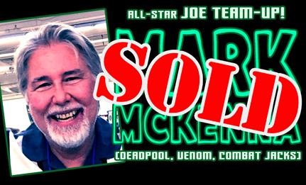 The Mighty MARK MCKENNA's piece has SOLD!
