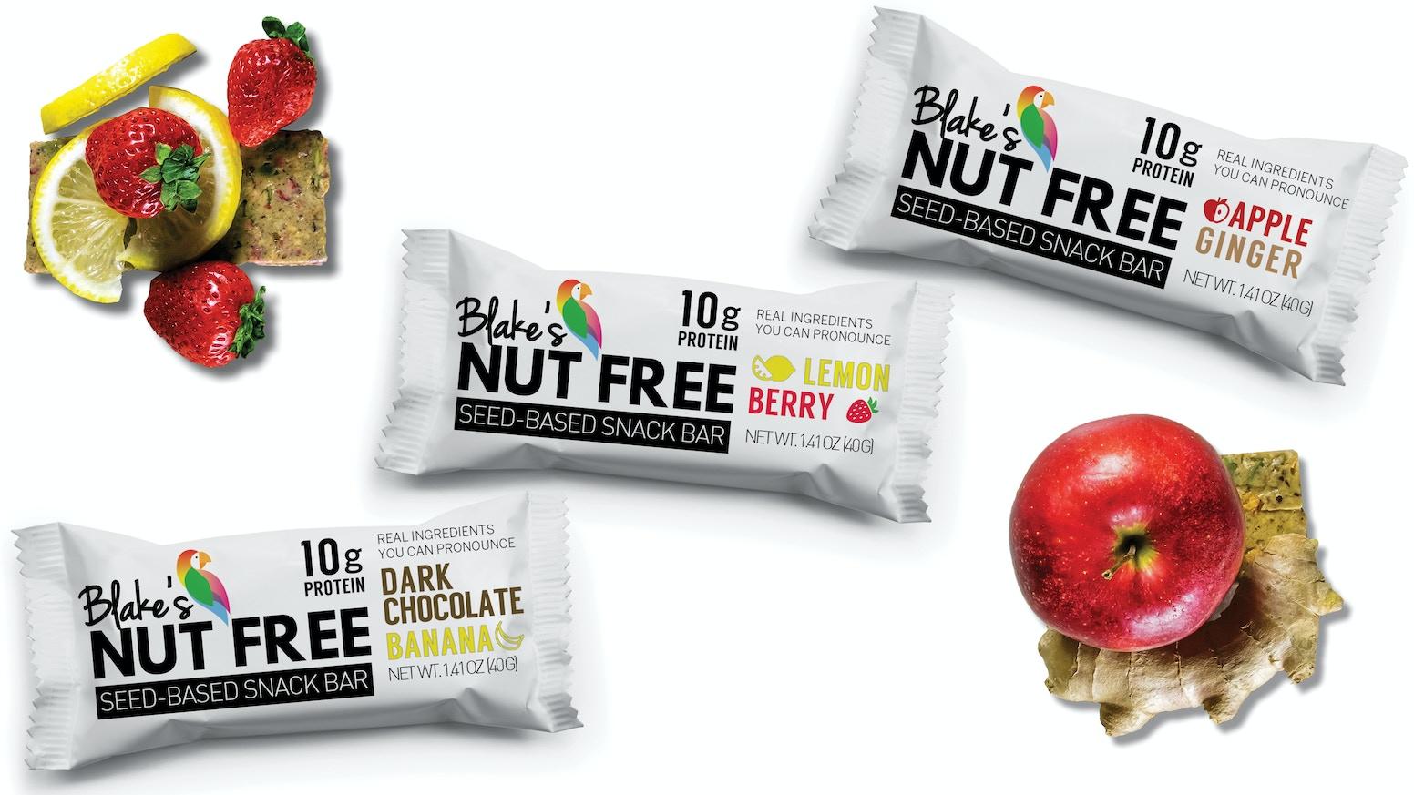Nut-Free & Gluten-Free Snack Bars